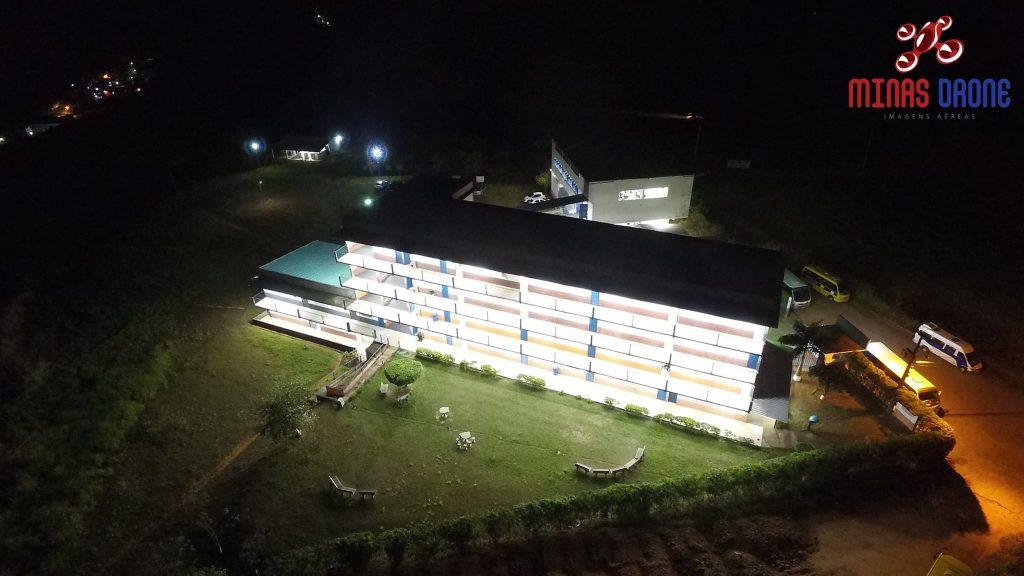 Foto aérea da Farleo feita por Minas Drone